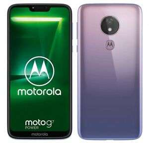 Motorola Moto G7 Power 6.2'' Smartphone 64GB Sim-Free Unlocked - Violet Grade A £107.90 with code @ cheapest_electrical / eBay
