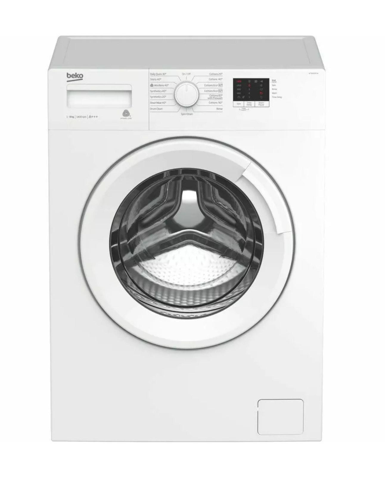 BEKO WTB840E1W 8 kg 1400 Spin Washing Machine – White £199 @ Currys PC World