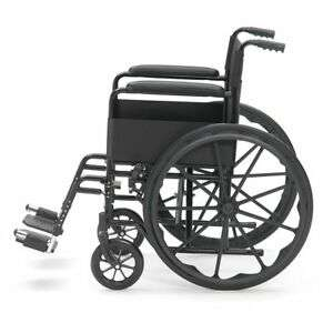 Drive Black Sport Self Propel Mobility Aid Mag Wheels Folding Steel Wheelchair - £62.99 with code @ livewell-today / eBay