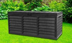 Garden Storage Box with Lid £34.38 delivered at Groupon