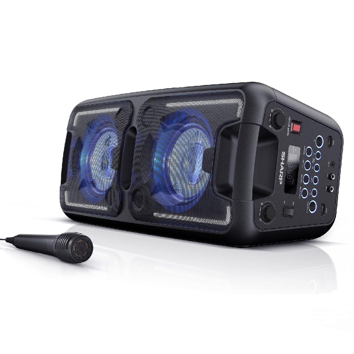 Sharp PS-920 Bluetooth Portable Party Speaker - Black - £84.99 @ Robert Dyas