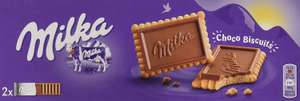 Milka chocolate biscuits 32p per pack - Min order 4 - £1.28 @ Amazon (+£4.49 Non-prime)