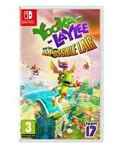 [Nintendo Switch] Yooka Laylee & The Impossible Lair - £15.85 delivered @ Base