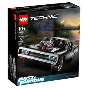 LEGO Technic 42111 Dom's Dodge Charger £79.99 pre-ordered free delivery @ GAME