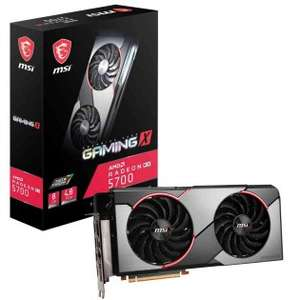 MSI Radeon RX 5700 Gaming X 8GB GPU + RE3, Monster Hunter World Iceborne and 3 months games pass £248.24 Delivered @ Tech Next Day