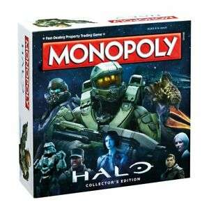 Halo Monopoly Collector's Edition Board Game £14.82 delivered @ xbiteworld / eBay