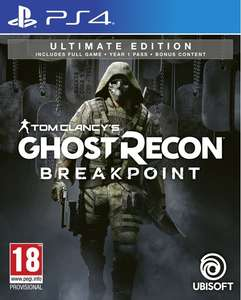 Tom Clancy's Ghost Recon: Breakpoint (Ultimate Edition) - PlayStation 4 @ Coolshop