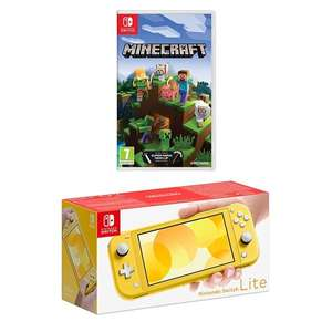 Nintendo Switch Lite Yellow & Select Game eg Minecraft or Lego Jurassic world £209.99 @ Smyths