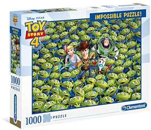 Impossible toy story 4 1000piece jigsaw £7.98 at Amazon Prime / £12.47 Non Prime