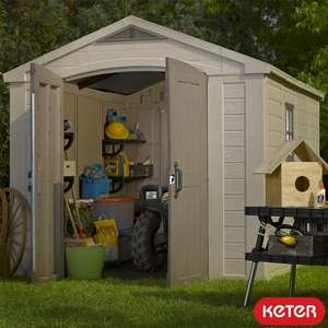 Keter Factor 8ft x 11ft (2.6 x 3.3m) Shed £699.99 delivered @ Costco