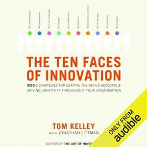 The Ten Faces of Innovation FREE Amazon Audible Book Amazon UK