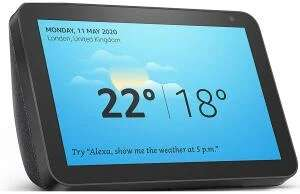 Amazon Echo Show 8 Smart Speaker - Charcoal - £59.99 delivered @ Currys / eBay