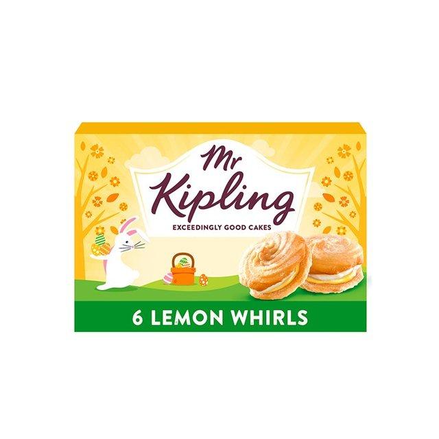 Mr Kipling Lemon Whirls (6 Pack) 50p @ Morrisons