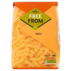 Morrisons Free From Fusilli 500g for 60p