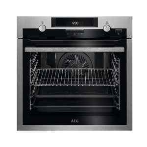 AEG BPS551020M Built In Electric Single Oven With Steam Function - 2y Warranty & £19.16 In Boots Points - £439 @ Boots Kitchen Appliances