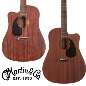 Martin DC15ME Dreadnought Cutaway Acoustic Guitar with Fishman Electronics + Hard Case Left or Right Handed - £1,249 Delivered @ Andertons