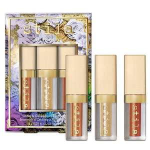 All Fired Up - Glitter & Glow Liquid Eyeshadow Set £14.50 @ Stila. Free delivery over £20 otherwise £3.99