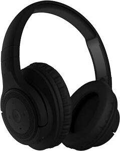 KitSound Engage ANC Noise Cancellation Wireless Bluetooth On Ear Headphones, Matte Black - £19.99 Delivered @ EOutlet_UK / eBay