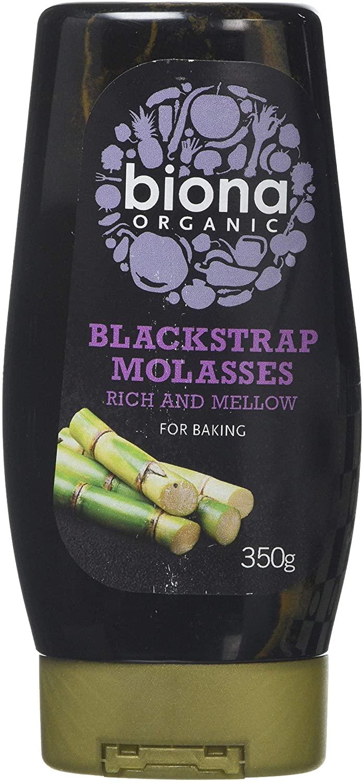 Biona Organic Blackstrap Molasses - Squeezy, 350 g Minimum order quantity of two - £5.58 (+£4.49 Non Prime) @ Amazon
