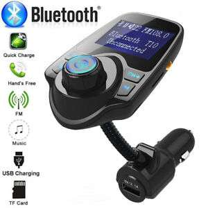 Wireless Bluetooth Kit FM Transmitter Car Radio Adapter MP3 Player USB Charger - £7.59 @ larry9752 eBay