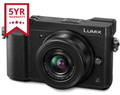 Panasonic Lumix GX80 16MP 4K Camera + 12-32mm Lens, Wi-Fi & NFC, Tilted Touchscreen, Black + 5 Year Warranty - £299 Delivered @ UKDigital