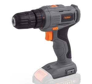 VonHaus E-Series Cordless Drill - 18V Electric Drill Bare Tool – No Battery or Charger Included £19.99 sold by DOMU UK Amazon