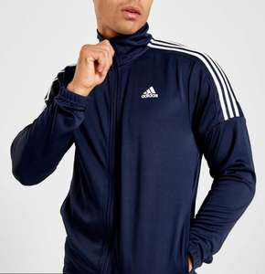 Adidas Badge of Sports Poly Funnel Track Top blue - £20 Delivered (With Code) @ JD Sports