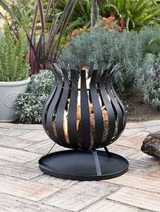 Bulb Fire Pit with free delivery £25 at Dunelm