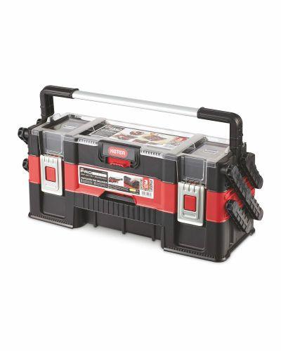 Keter Cantilever Trio Tool box £19.99 + £2.95 delivery @ Aldi
