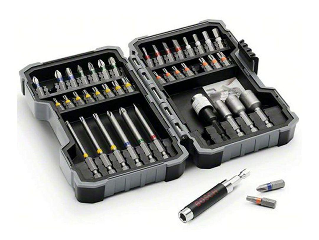 Bosch Professional 2607017164 43-Piece Bit And Nutsetter Set - Tools - £15.99 Prime / + £4.49 Non Prime @ Amazon