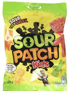 Maynards Sour Patch Kids Bag (6 Pack's at 160g each) £6 prime / £10.49 non prime at Amazon