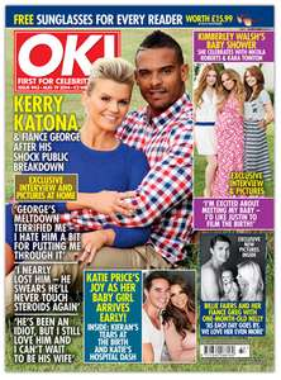 Free Copy of OK Magazine, Enjoy the best selling celebrity gossip magazine in the UK today!