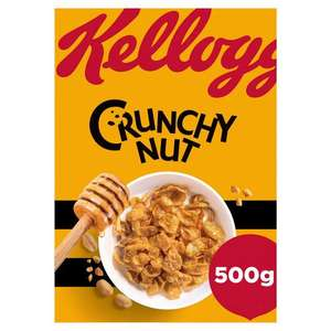 Kellogg's Crunchy Nut Corn Flakes Cereal 500g @ Iceland