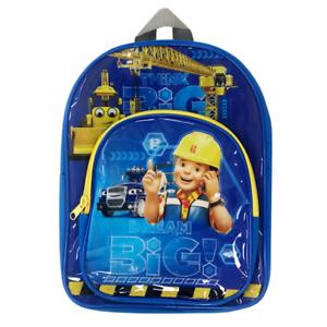 Bob The Builder   Team Bob   Construction   Blue School Backpack   Rucksack Bag - £3 @ bitsandthebobs / eBay