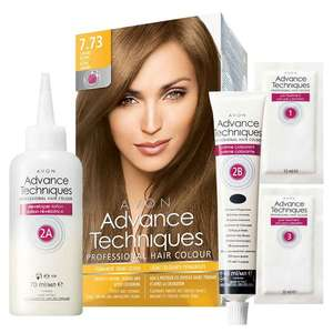Avon Advance Techniques Permanent Hair Dye £3.50 + £2.50 delivery at Avon