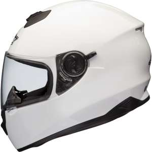 Shox Assault Motorcycle Helmet - White - £31.44 with code @ Ghost Bikes
