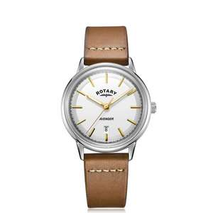 Rotary Men's Avenger watch (GS05340-02) with white dial for £87 delivered @ H.S. Johnson