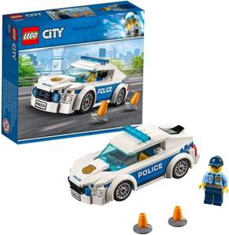 LEGO 60239 City Police Police Patrol Car Toy with Policeman Minifigure - £7.98 (Prime) £12.47 (Non Prime) @ Amazon