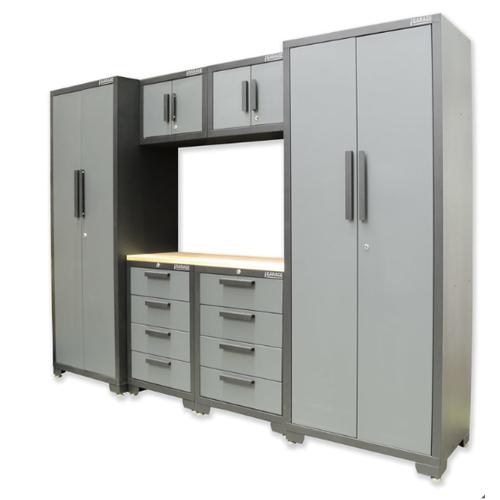 Hilka Professional Garage 24 Gauge Steel 7 Piece Modular Cabinet Set - £829.99 @ Costco