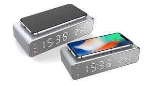 Alarm Clock Wireless Charger - £15.98 Delivered @ Groupon