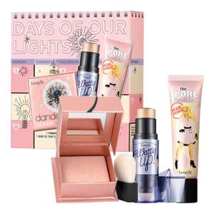 Benefit Days of Our Lights Set - 1 Full Size Face Primer & 2 Full Size Highlighters now £25.67 delivered @ Benefit Cosmetics