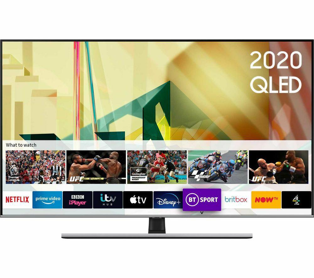"SAMSUNG QE75Q75TATXXU 75"" Smart 4K Ultra HD HDR QLED TV with Bixby, Alexa & Google Assistant - £2,799 @ Currys PC World"