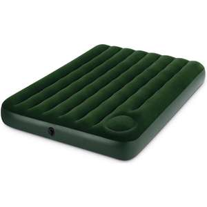 Intex Double Downy Airbed with Built In Foot Pump £12 delivered @ Yankee Bundles