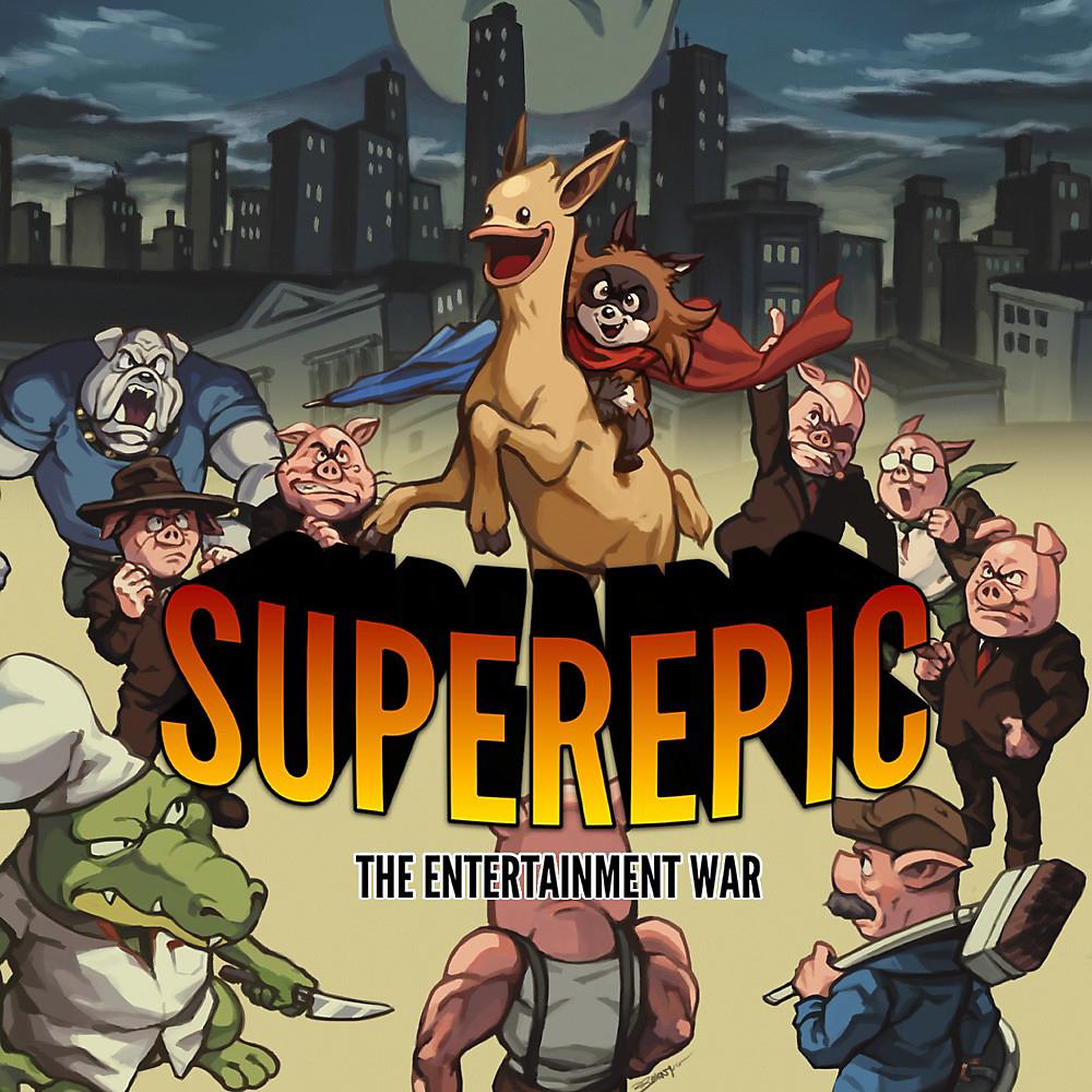 SuperEpic: The Entertainment War (Nintendo Switch) - £11.99 @ Nintendo eShop (SA £8.35)