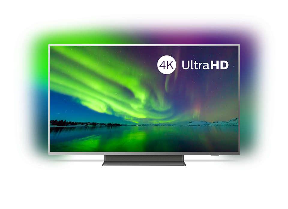 "Philips Ambilight 55PUS7504/12 55"" 4K UHD LED Android TV + Claim 10 FREE 4K movie rentals via Rakuten - £549.89 @ Costco (+5 Years Warranty)"