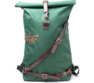 Nintendo Legend of Zelda Link Belt backpack in green for £29.97 delivered with free 6-month subscription to Spotify @ Currys PC World