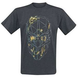 Dishonored 2: Corvo's Mask Gold T-Shirt (Sizes M / L / XL) £4.95 delivered @ The Game Collection