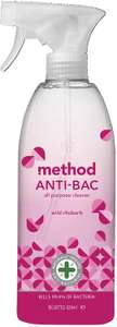 Method Antibacterial All Purpose Cleaner Wild Rhubarb (828 ml) £3 at Amazon Prime (£2.85 with S&S) £7.49 Non Prime