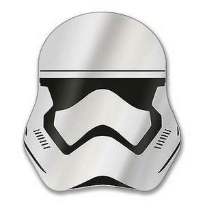 Star Wars Stormtrooper Mirror (0.5 x 30.6 x 33.9 cm) £6.99 delivered @ Imagifts4u-uk / eBay
