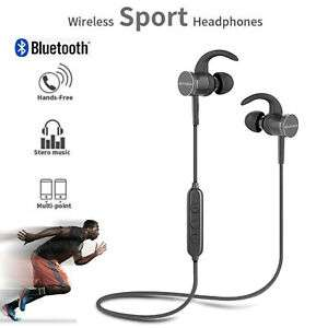 oneo 5.0 Sweatproof Earphones Wireless Bluetooth Sports In-Ear Running Headphones 8H - £9.99 from mymemory ebay